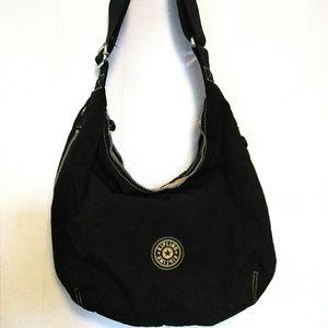 Kipling Black Sling Cross Body Bag Purse